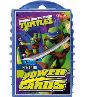 Żółwie Ninja - karty do gry Power Cards - Leonardo - Tactic