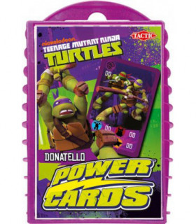 Żółwie Ninja - karty do gry Power Cards - Donatello - Tactic