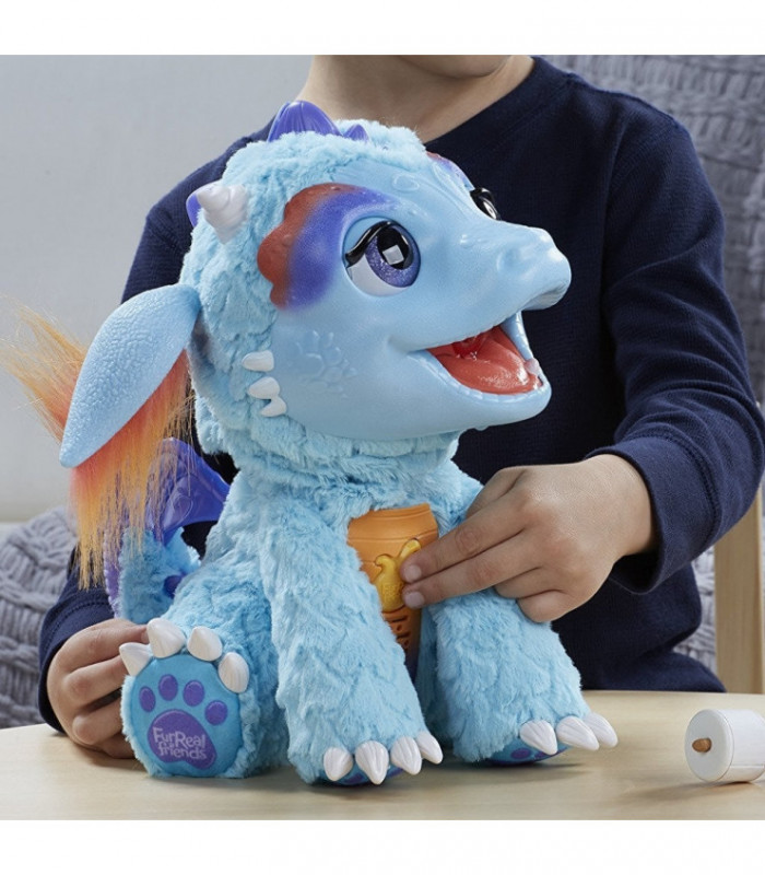 FurReal Friends - zabawka interaktywna - Dinozur Torch - Hasbro