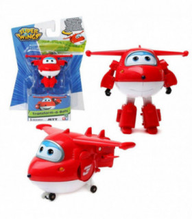 Super Wings Transformujący się Dżetek mini figurka Auldey