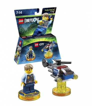 LEGO Dimensions 71266 Chase McCain i helikopter