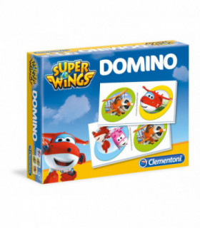 Super Wings Gra losowa Domino 28 el.
