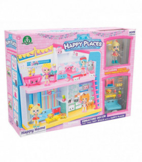Shopkins - Domek i figurki - seria Happy Places