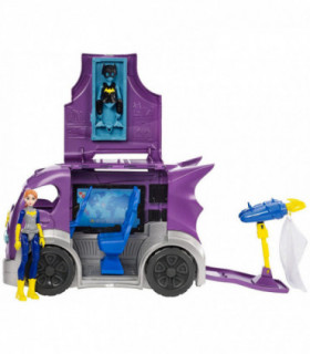 DC Super Hero Girls Figurka Batgirl i wóz