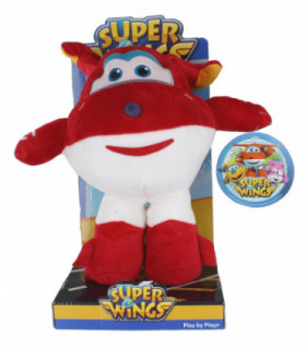 Super Wings Maskotka interaktywna Dżetek 22 cm