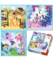 Trefl, My Little Pony, Puzzle 3-w-1, 20 36 50 el.