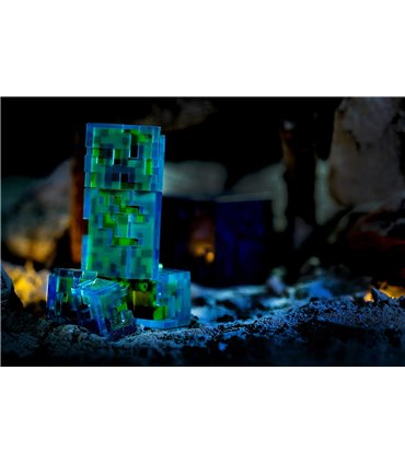 Minecraft - Figurka Charged Creeper i akcesoria