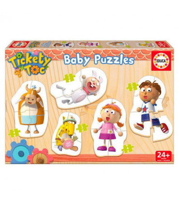 Puzzle Baby 5-w-1 - Tickety Toc